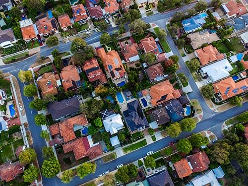 Origem do mercado imobiliário